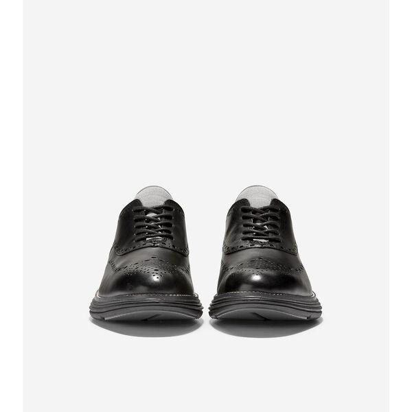 ØriginalGrand Ultra Wingtip Oxford, Black Leather-Black, hi-res