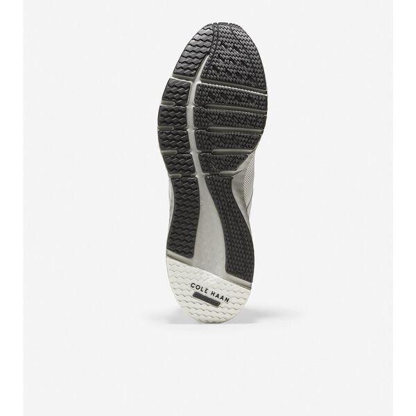 ZERØGRAND Overtake Running Shoe, Optic White-Sleet, hi-res