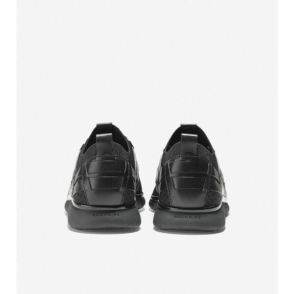 GrandMøtion Woven Sneaker, Black Stitchlite™, hi-res