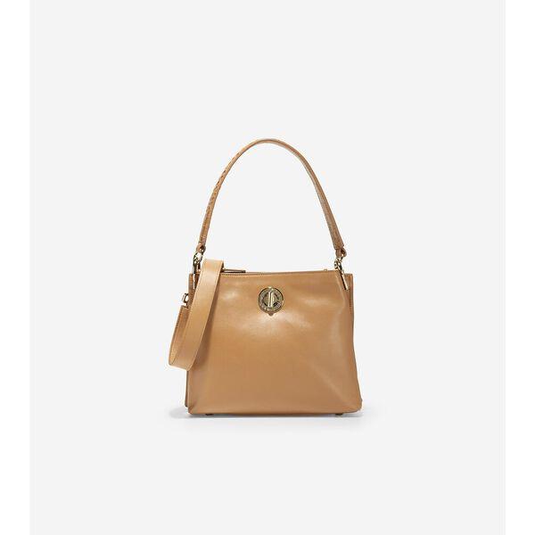 Small Turnlock Bucket Bag