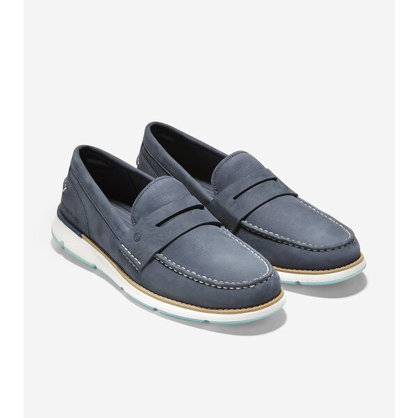 4.ZERØGRAND Loafer, Ombre Blue-Optic White, hi-res