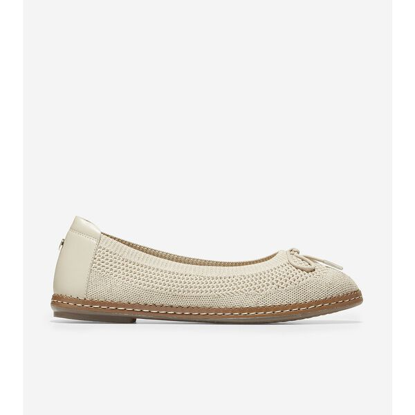 Cloudfeel All Day Knit Ballet, Cement-Gold, hi-res