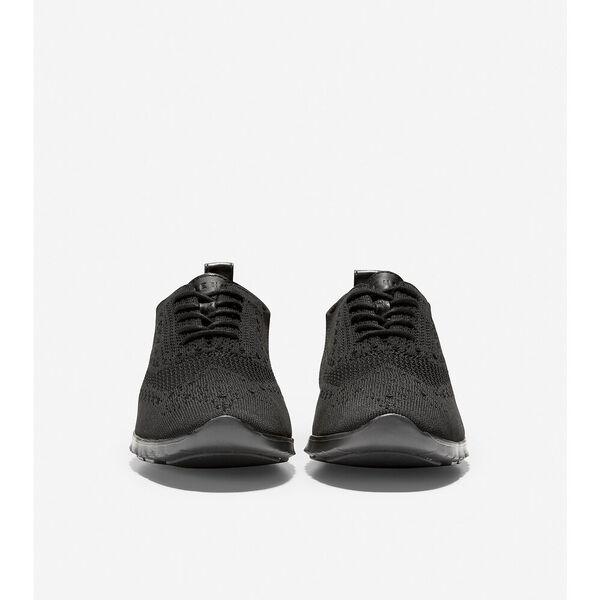 ZERØGRAND Wingtip Oxford, Black Stitchlite™-Black, hi-res