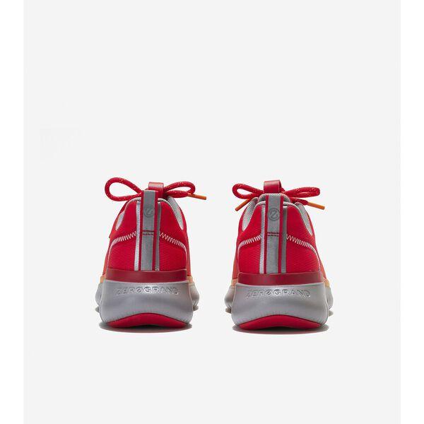 ZERØGRAND Journey Running Sneaker, Blood Orange-Yellow, hi-res