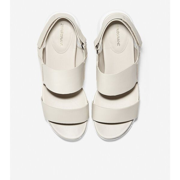 ZERØGRAND Wedge Sandal, Pumice Stone Leather, hi-res