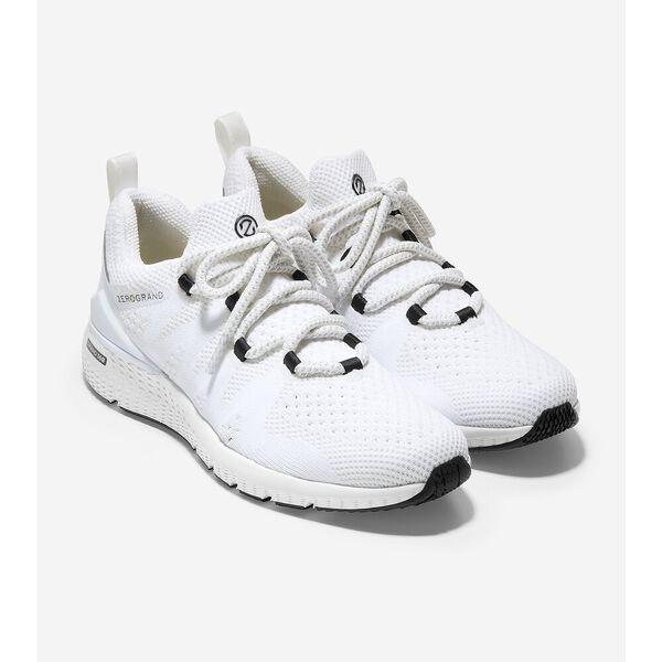 ZERØGRAND Overtake Lite Running Shoe, Optic White Stitchlite™-Nimbus Cloud, hi-res
