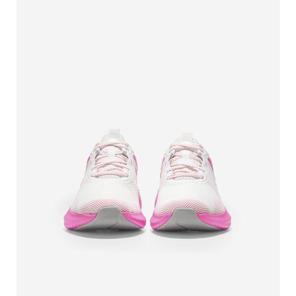ZERØGRAND Outpace 2 Running Shoe, White-Neon Fuschia, hi-res