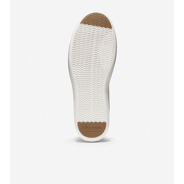 Grand Crosscourt Sneaker, White Leather, hi-res