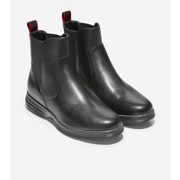 ØriginalGrand Chelsea Boot WP, Black, hi-res