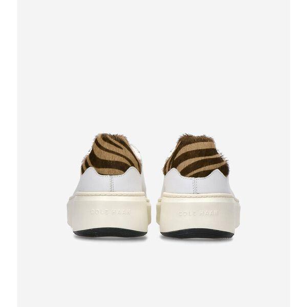 GrandPrø Topspin Sneaker, Optic White-Zebra-Silver, hi-res