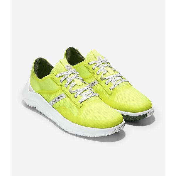 ZERØGRAND Winner Tennis Sneaker, Safety Yellow-Nimbus Cloud, hi-res