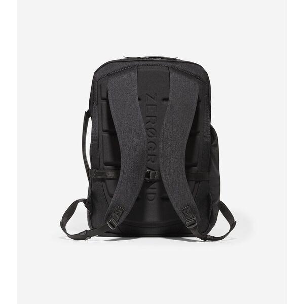 ZERØGRAND Slim Convertible Backpack, Black, hi-res