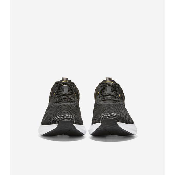 ZERØGRAND Outpace 2 Running Shoe, Black-Optic White, hi-res