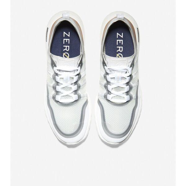 ZERØGRAND Outpace Running Shoe, Optic White-Rose Gold Metallic, hi-res