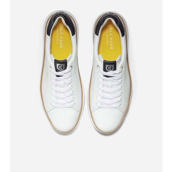 GrandPrø Topspin Sneaker, Black-Ivory-Cyber Yellow, hi-res