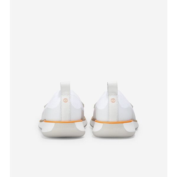 4.ZERØGRAND Loafer, White Stitchlite™-Silver Metallic, hi-res