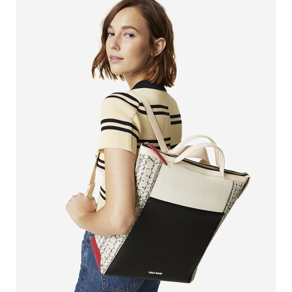 Grand Ambition Backpack, Corolla Snake Print, hi-res