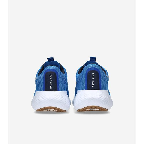 ZERØGRAND Outpace 2 Running Shoe, Cobalt Blue-Whitecap Grey, hi-res