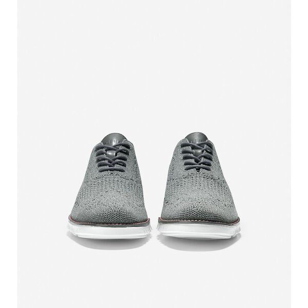 ZERØGRAND Wingtip Oxford, Sedona Sage Stitchlite™-Grey, hi-res