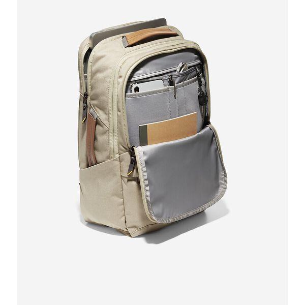 ZERØGRAND City Backpack, Safari, hi-res