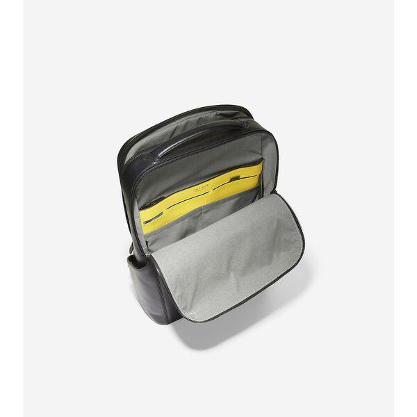 GRANDSERIES Gramercy Backpack, Black-Cyber Yellow, hi-res