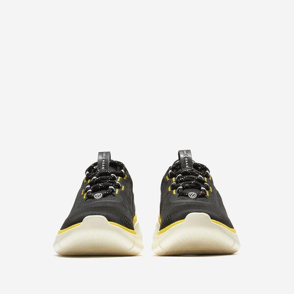 ZERØGRAND Journey Running Sneaker, Black-Cyber Yellow, hi-res