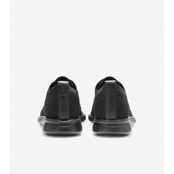 2.ZERØGRAND Wingtip Oxford, Black Stitchlite™-Black, hi-res