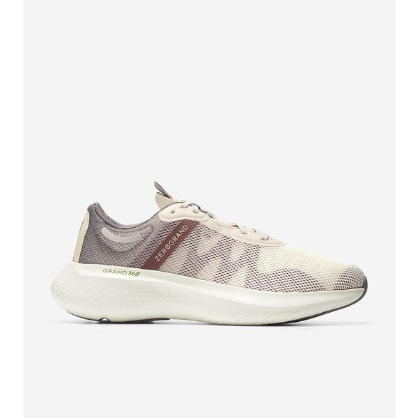 ZERØGRAND Outpace 2 Running Shoe, Charcoal Grey-Ivory-Rose, hi-res