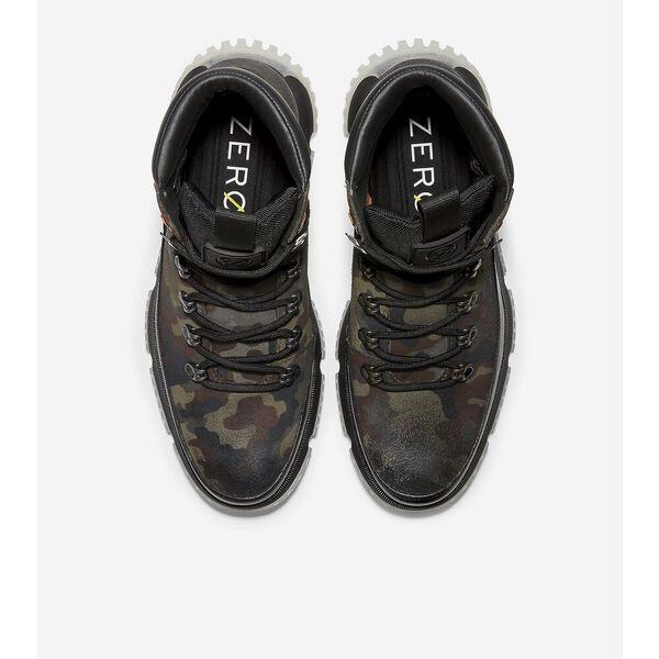 4.ZERØGRAND Hiker Boot WP, Black Olive Camo Print, hi-res