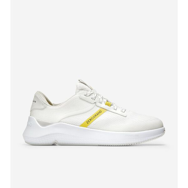 ZERØGRAND Winner Tennis Sneaker, White-Nimbus Cloud-Cyber Yellow, hi-res