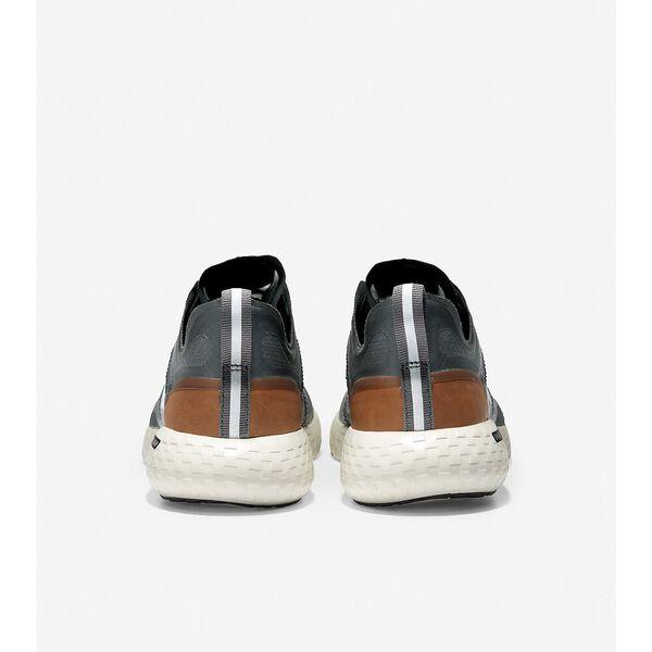 ZERØGRAND Outpace Running Shoe, Black-British Tan-Ivory, hi-res