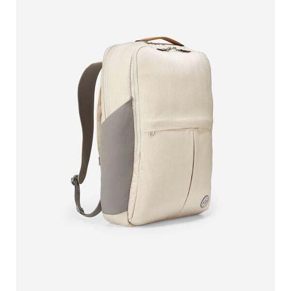 ZERØGRAND Slim Convertible Backpack, Cement, hi-res