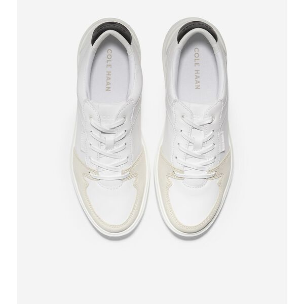 Grand Crosscourt Modern Sneaker, Optic White-Ivory, hi-res