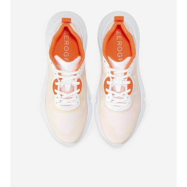 ZERØGRAND Radiant Sneaker, White-Shocking Orange, hi-res